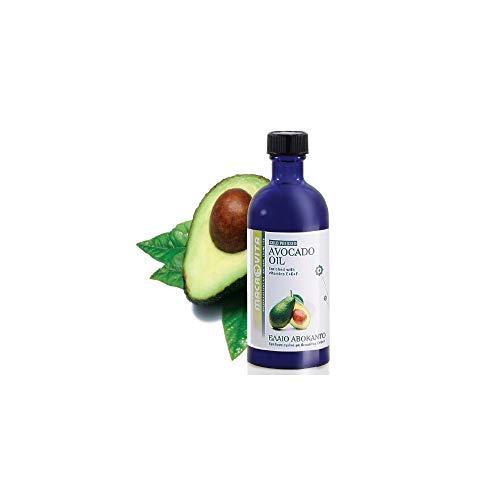 macrovita aceite de aguacate con complejo de vitamina E + C + F 100ml.
