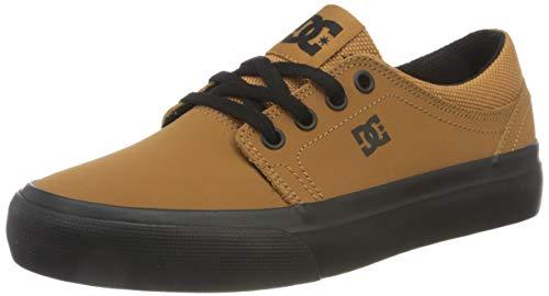 DC Shoes Trase, Zapatillas, Wheat/Black, 35 EU