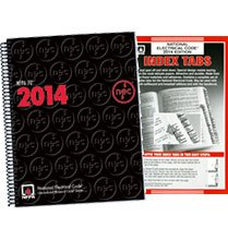 NFPA 70: National Electrical Code (NEC) Spiralbound and Tabs Set, 2014 Edition
