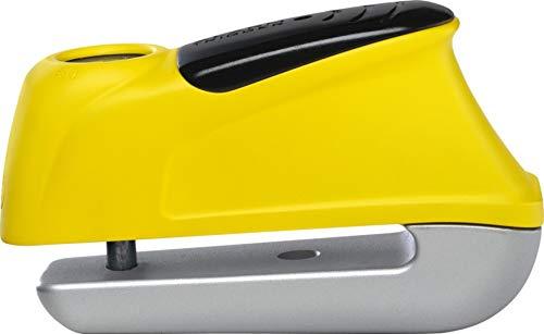 ABUS Motorradschloss Alarm-Bremsscheibenschloss Trigger Alarm 345/350 red 5mm, Unisex, Multipurpose, Ganzjährig, Stahl, schwarz