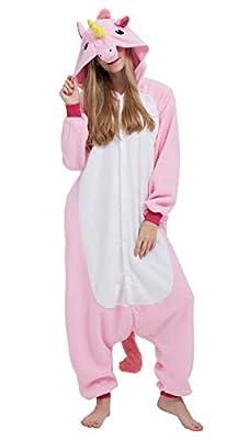 Pijama Unicornio Onesie Adultos Mujer Cosplay Animal Disfraces L