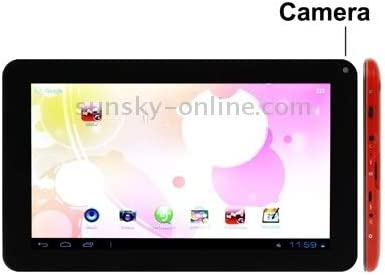Zongxinkeji HDMI, WiFi, Android 4.4 512MB+8GB Allwinner A33 up to 1.3GHz (Color : Black)