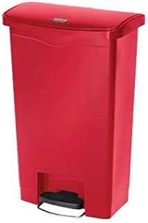 Rubbermaid Slim Jim 50L/13G Step Waste Bin