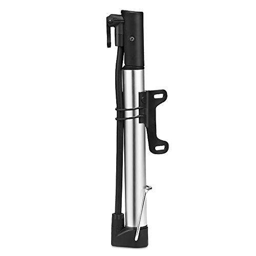 Xian Ju Mini Fahrradpumpe, Minipumpen Fahrrad für Presta & Schrader Ventile- Hoher Druck bis 8,3 Bar - zuverlässig, Kompakt & Leichte Rahmenpumpe- Minipumpen für Rennrad, Mountainbike