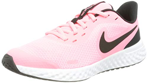 Nike Revolution 5, Zapatillas de Running, Sunset Pulse Black White, 38 EU