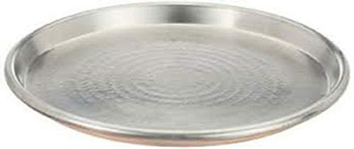 Vigor Blinky 94080-30 Teglia Rame Stagnato, Tonda, Bordo da 3 cm, Diametro 30 cm