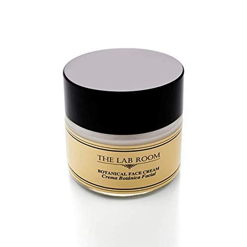Crème Visage Hydratant, The Lab Room Botanical Face Cream 50ml, Crème Visage Légère pour Soins de la peau aux Géranium et Lavande