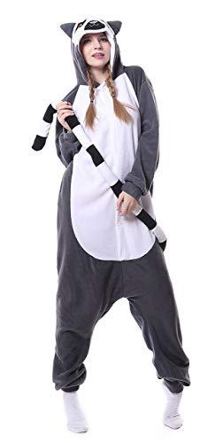 FunnyCos - Pijama unisex para disfraz de disfraz de Halloween para adultos
