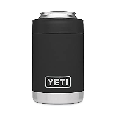 YETI B072337ZP7 Rambler Vacuum Insulated Stainless Steel Colster, Black