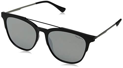 Pepe Jeans Joshua Gafas de sol, Negro (Black/Grey), 55.0 Unisex Adulto