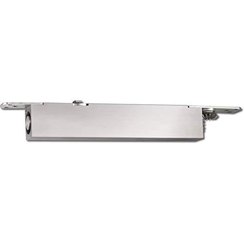 GEZE 101759 Türschließer integriert BOXER, EN 2-4, Achse 4 mm verlängert, silberfärbig, silber