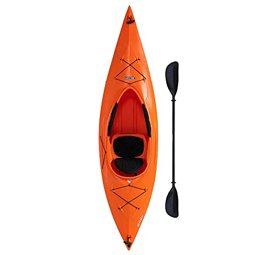 Lifetime 90321 Glide 98 Sit-In Kayak, Paddle Included