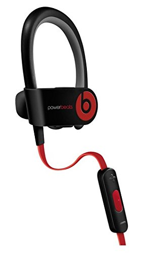 Beats by Dr dre Powerbeats2 Wireless In-Ear Bluetooth Headphone with Mic - Black (Renewed)