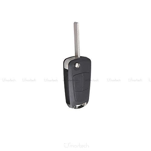 Cover guscio per chiave a distanza a 2 tasti per telecomando compatibile Opel. MWS