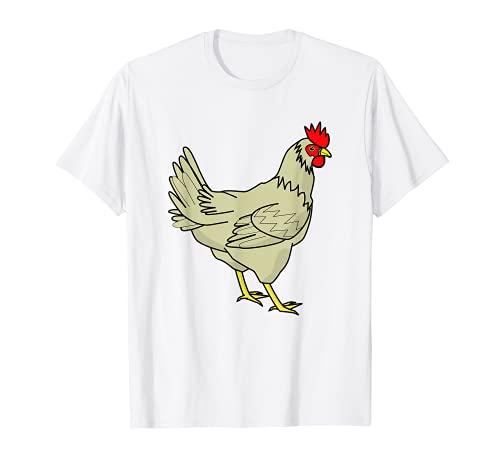 Pollo Gallo Granjero Amantes de los animales Granero Regalo Camiseta