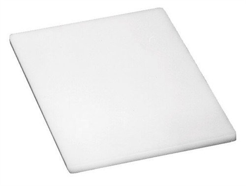 Winco 15 by 20 by 1/2-Inch Cutting Board, White