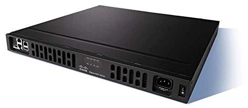 Cisco ISR 4331 Ethernet Negro - Router (10,100,1000 Mbit/s, 10/100/1000Base-T(X), Ethernet (RJ-45), IEEE 802.1ag,IEEE 802.1Q,IEEE 802.3,IEEE 802.3ah, BGP,EIGRP,IS-IS,OSPF, Firewall, IPSec VPN, EZVPN, DMVPN, FlexVPN)