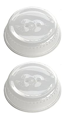Microwave Cover, Clear - 10 (Value 2-Pack)