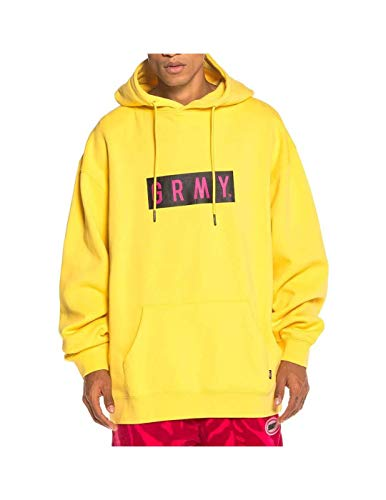 GRIMEY Sudadera Flying Saucer Hoodie FW19 Yellow-S