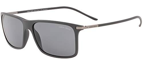 Giorgio Armani AR 8034 zonnebril, mat, grijs/grijs, 57/14/145 heren