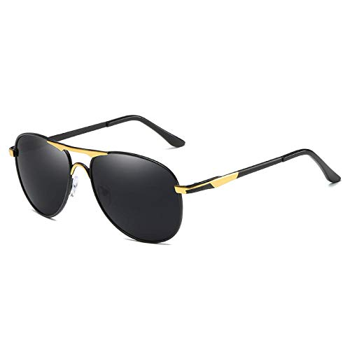 NIUASH Gafas de Sol polarizadas Gafas de Sol polarizadas para Conducir Gafas de conducción con Montura clásica Gafas de Sol antideslumbrantes Gafas UV400 para Hombre-A