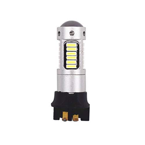 Dynamovolition PW24W 4014 30SMD Brillante Bajo Consumo de energía Luz antiniebla para automóvil Luz de Freno Luces de Marcha atrás Luz de Bombilla de estacionamiento para automóvil