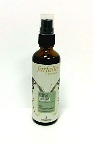 Farfalla Bio Pflanzenwasser Melisse Beruhigend 75 ml Hydrolat