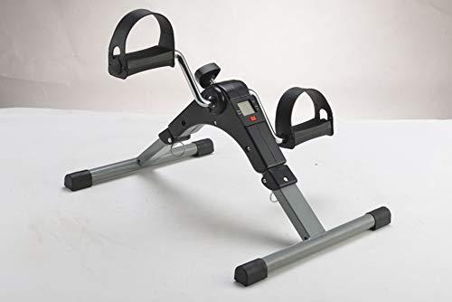 YAMAXUN Medical Folding Pedal Exerciser Mit Elektronischer Anzeige Für Bein- Und Armtraining (Vollständig Zusammengebauter Übungshändler, Kein Werkzeug Erforderlich)