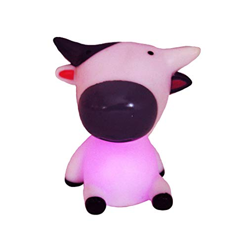 LED Kuh Ledlampe Lampe Leuchte Kuhlampe mit Farbwechsler Farbwechsel 10 cm