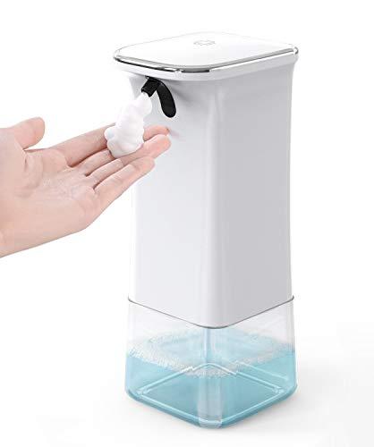 Umimile ソープディスペンサー ハンドソープ 自動 泡 オートディスペンサー 2段階調整 電池式 280ml 詰め替え 壁掛け IPX4防水 ハンドソープ 食器用洗剤対応 日本語説明書付き