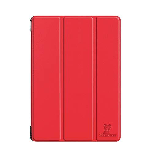 HHF Pad Accesorios para Samsung Galaxy Tab S4 10.5 2018 SM-T830 / T835, Tableta de lápiz Caja Protectora de la Piel para la pestaña Galaxy 10.5 (Color : Red)