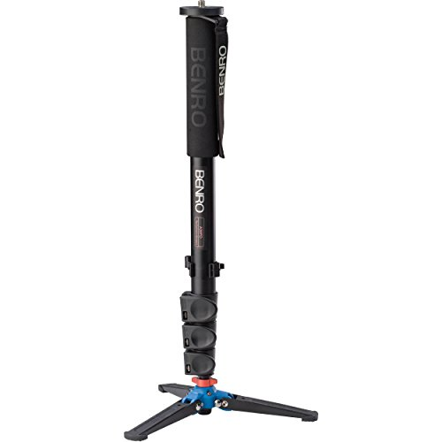 Benro Aluminum 3 Series Flip-Lock Monopod w/ 3-Foot Articulating Base (A38FD)