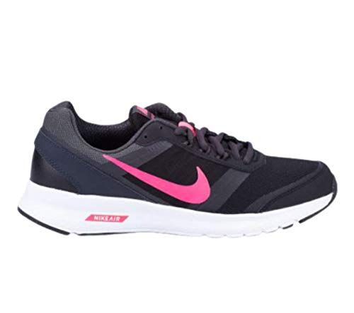 Nike Wmns Air Relentless 5, Zapatillas de Running Mujer, Negro (Black/Hyper Pink-Anthrct-White), 35 1/2