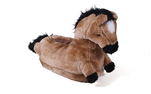 9014-1 - Horse - Small - Happy Feet Animal Slippers
