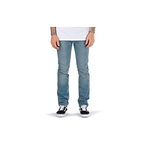 Vans Herren V16 Slim Denim Jeans, Washed Indigo, Gr. W30/L32