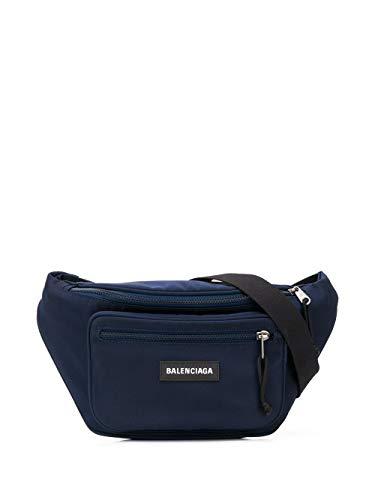 Luxury Fashion | Balenciaga Heren 4823899TY454611 Donkerblauw Polyamide Heuptas | Lente-zomer 20
