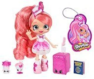 NEW - EXCLUSIVE SET - Shopkins Shoppies World Vacation Visits America Doll - Pinkie Cola and Shopkins Season 8 World Vacation (Americas)