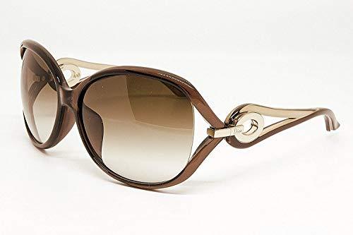 Dior (ディオール) サングラス Volute 2F ブラウンハニー 57XCC