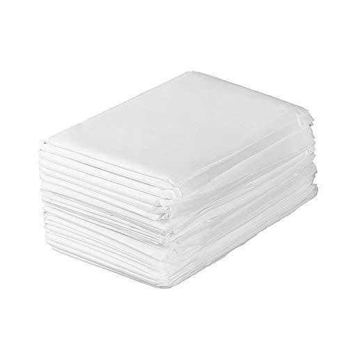 Einweg-Tischdecken, 100 Stück Massage Spa Soft Wasserdicht desinfiziert, atmungsaktiv Bettdecke Vliesstoff für Untersuchungsbehandlungsgeräte Spa Patient Client Salon Bettstuhl