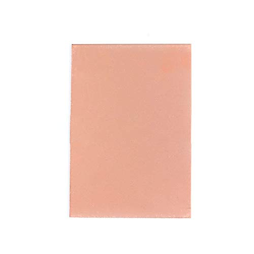 Alician 5/10 Stück 10 x 15 cm FR4 1,5 mm Dicke PCB bedruckte Kupferplatte, Laminat (doppellagig) 5-teilig