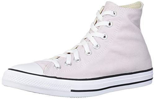Converse Chuck Taylor All Star Seasonal High Top Sneaker, Barely Rose, 7 M US