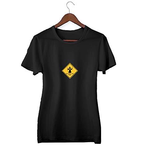 You Shall Not Pass Monopoly Road Sign LOTR_KK023836Camiseta de la Camisa Regalo de Las Mujeres Camiseta cumpleaños, 2XLarge, Black
