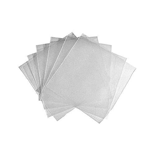 100 Bustine Per Cd E Dvd Trasparenti In Plastica Pvc Con Aletta Di Chiusura
