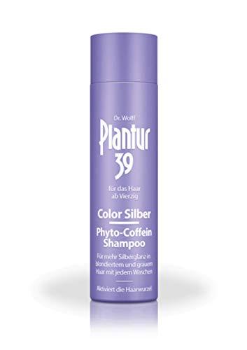 Plantur Plantur 39 Color Silber Phyto-Coffein Shampoo, 250 ml