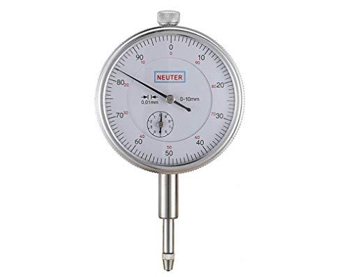 Hycy Indicador 0-10/0.01Mm con Medición De Retroiluminación Medidor De Cuadrante Micrómetro Herramientas De Precisión