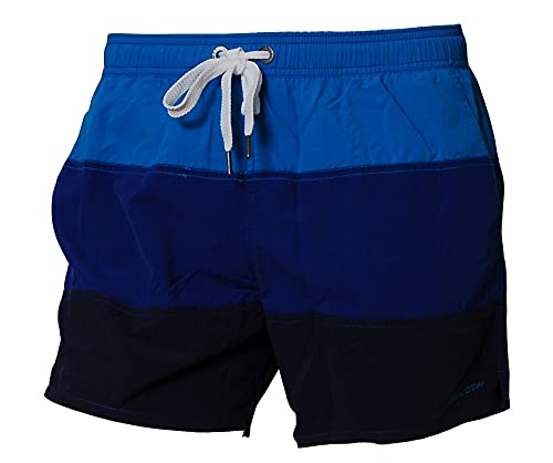 Marc O' Polo Bodywear - Short Homme - Multicolore - Mehrfarbig (Pool Side) - FR : Large (Taille Fabricant : L) (Brand size: L)