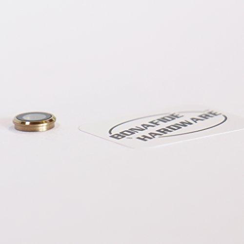 Bonafide HardwareTM - iPhone 6 4.7 Glass Rear Back Camera Lens Replacement Part (Gold)