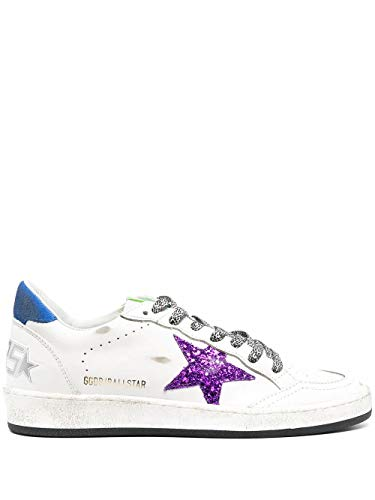 Golden Goose Luxury Fashion Donna GWF00117F00018710236 Bianco Pelle Sneakers   Stagione Permanente