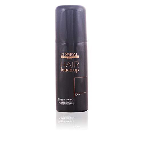 L'Óreal 913-98000 Hair Touch Up Champú Corrector de Raíce, Negro - 75 ml