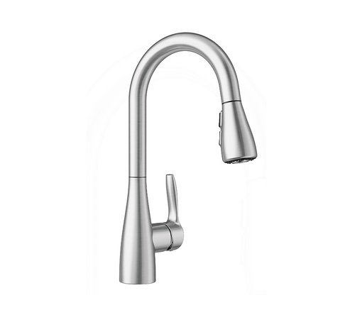 BLANCO, Stainless 442210 ATURA Pull-Down Bar Faucet, 1.5 GPM